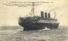 shi004134 - Compagnie Generale Steamer, Steam Boat, Ship Ships, Postcard Postcards