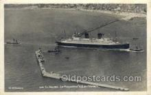 shi004155 - SS Ile De France Steamer, Steam Boat, Ship Ships, Postcard Postcards