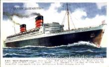 shi005026 - Queen Mary Postcard postcards