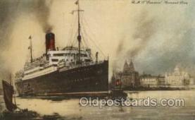 shi005056 - Samaria - Cunard Ship Ships Postcard Postcards