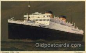 shi005066 - Britannic Cunard White Star Line Ship, Ships, Postcard Postcards