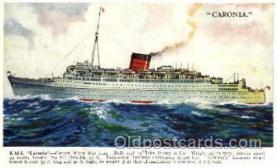shi005075 - R.M.S. Caronia Cunard White Star Line Ship, Ships, Postcard Postcards