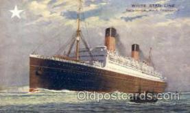 shi005093 - R.M.S. Homeric Cunard White Star Line Ship, Ships, Postcard Postcards