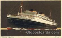 shi005104 - Georgic Cunard White Star Line Ship, Ships, Postcard Postcards