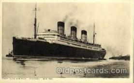shi005119 - R.M.S. Bergaria Cunard White Star Line Ship, Ships, Postcard Postcards