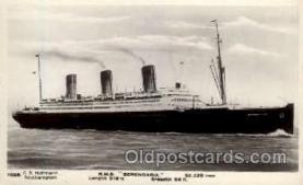 shi005134 - R.M.S. Berengaria Cunard White Star Line Ship, Ships, Postcard Postcards