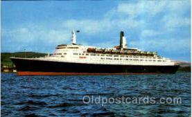 shi005159 - Queen Elizabeth 2, Cunard Line, Ship Ships Postcard Postcards