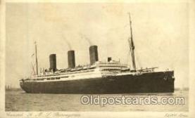 shi005170 - R.M.S Berengaria Cunard Line, Ship Ships Postcard Postcards