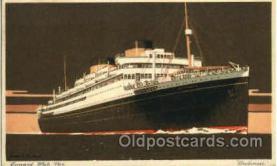 shi005175 - Britannic Cunard Line, Ship Ships Postcard Postcards