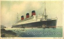 shi005179 - R.M.S. Queen Mary Cunard Ship Ships Postcard Postcards