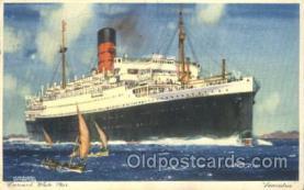 shi005204 - Lancastria Cunard Ship Ships Postcard Postcards