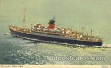 shi005211 - Media Cunard Ship Ships Postcard Postcards