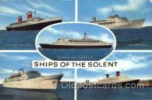 shi005224 - Ships of the Solent Cunard Ship Ships Postcard Postcards