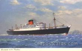 shi005225 - R.M.S. Parthia Cunard Ship Ships Postcard Postcards