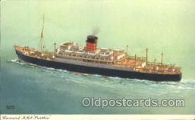 shi005227 - R.M.S. Parthia Cunard Ship Ships Postcard Postcards