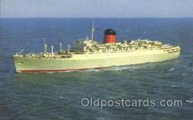 shi005234 - Cunard Camania Cunard Ship Ships Postcard Postcards