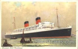 shi005235 - R.M.S. Mauretania Cunard Ship Ships Postcard Postcards