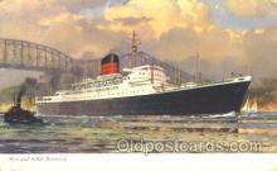 shi005236 - R.M.S. Laxonia Cunard Ship Ships Postcard Postcards