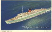 shi005244 - The New Caronia Cunard Ship Ships Postcard Postcards