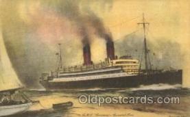 shi005254 - R.M.S.Laronia Cunard Ship Ships Postcard Postcards