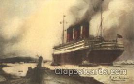 shi005257 - R.M.S. Berengaria Cunard Ship Ships Postcard Postcards