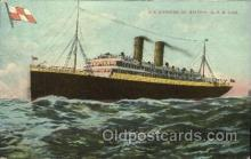 shi005272 - S.S.Empress of Britain Cunard Ship Ships Postcard Postcards
