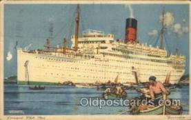 shi005277 - Carinthia Cunard Ship Ships Postcard Postcards