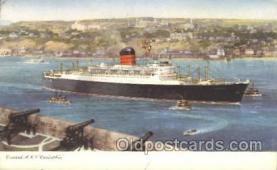 shi005289 - R.M.S. Carinthia Cunard Ship Ships Postcard Postcards
