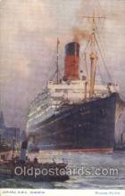 shi005296 - R.M.S. Samaria Cunard Ship Ships Postcard Postcards