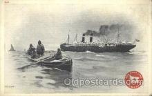 shi006037 - Antwepper, New York,USA Red Star Line, Lines Ship Ships Postcard Postcards