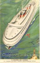 shi007014 - Sur L'Avenir Ship, Ships, Postcard Postcards