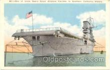 shi007026 - USA Airplane Carrier in Southern California Waters Ship Ships Postcard Postcards