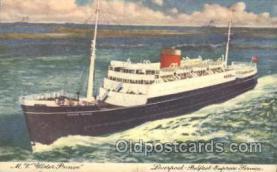 shi007148 - M.V. Wster Prince Ocean Liner, Ocean Liners, Oceanliner Ship Ships Postcard Postcards