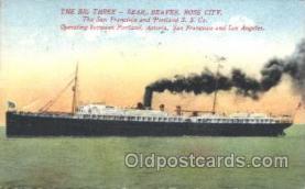 shi007151 - Bear, Beaver, Rose City Ocean Liner, Ocean Liners, Oceanliner Ship Ships Postcard Postcards