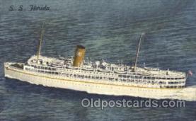 shi007159 - S.S. Florida Ocean Liner, Ocean Liners, Oceanliner Ship Ships Postcard Postcards