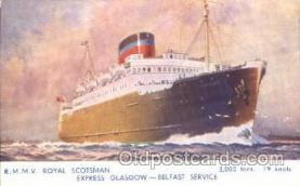shi007163 - R.M.M.V. Royal Scotsman Ocean Liner, Ocean Liners, Oceanliner Ship Ships Postcard Postcards