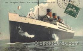 shi007179 - Le Paquebot France Ocean Liner, Ocean Liners, Oceanliner Ship Ships Postcard Postcards