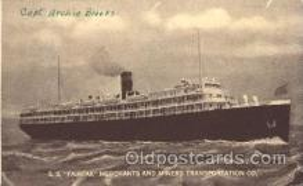 shi007188 - S.S. Fairfax Ocean Liner, Ocean Liners, Oceanliner Ship Ships Postcard Postcards