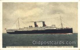 shi007195 - Orizaba and Siboney Ocean Liner, Ocean Liners, Oceanliner Ship Ships Postcard Postcards