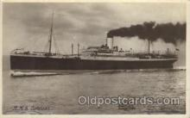 shi007234 - R.M.S. Corsiean Ocean Liner, Ocean Liners, Oceanliner Ship Ships Postcard Postcards