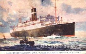 shi007249 - Letitia Ocean Liner, Ocean Liners, Oceanliner Ship Ships Postcard Postcards