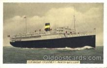 shi007274 - The New York and Porto Rico S.S. Ocean Liner, Ocean Liners, Oceanliner Ship Ships Postcard Postcards