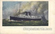 shi007283 - Honolulu, Samoa, New Zealand and Australia Ocean Liner, Ocean Liners, Oceanliner Ship Ships Postcard Postcards