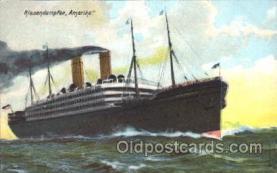 shi007285 - Riesendampfer, Amerika Ocean Liner, Ocean Liners, Oceanliner Ship Ships Postcard Postcards
