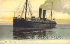 shi007286 - Le Bretagne Ocean Liner, Ocean Liners, Oceanliner Ship Ships Postcard Postcards
