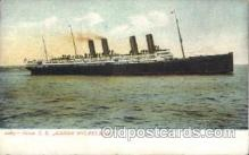 shi007288 - S.S. Kaiser Wilhelm II Ocean Liner, Ocean Liners, Oceanliner Ship Ships Postcard Postcards
