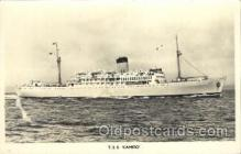 shi007297 - T.S.S. Camito Ocean Liner, Ocean Liners, Oceanliner Ship Ships Postcard Postcards