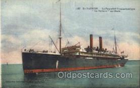 shi007301 - La Navarre Ocean Liner, Ocean Liners, Oceanliner Ship Ships Postcard Postcards