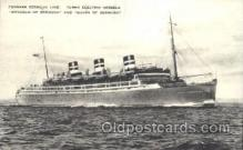 shi007304 - Monarch of Bermuda and Queen of Bermuda Ocean Liner, Ocean Liners, Oceanliner Ship Ships Postcard Postcards