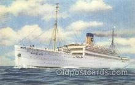 shi007307 - S.S. Homeland  Ocean Liner, Ocean Liners, Oceanliner Ship Ships Postcard Postcards